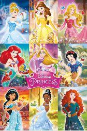 Disney Księżniczki - Kolaż - plakat