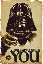 Star Wars Gwiezdne Wojny - Empire Needs You - plakat