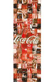 Coca-Cola - patchwork - plakat