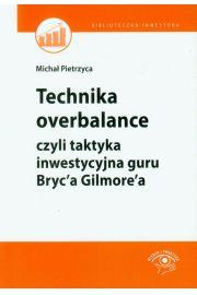 Technika overbalance, czyli taktyka inwestycyjna guru Bryc'a Gilmore'a
