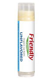 Friendly Organic, Organiczny balsam do ust, bezzapachowy, 4,25g