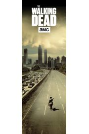The Walking Dead Opuszczone Miasto - plakat