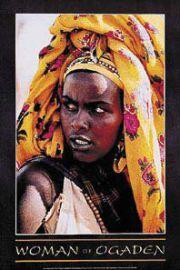 Kobieta z Ogaden - Etiopia Somalia - plakat