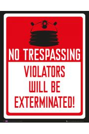 Doctor Who Keep Out - plakat
