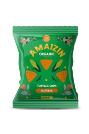 Chipsy Kukurydziane Solone Bezglutenowe Bio 75 G - Amaizin