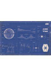 Gwiezdne Wojny Imperialna Flota. Star Wars - plakat