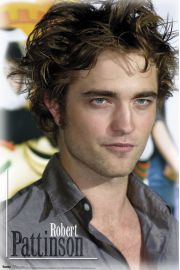 Robert Pattinson Spojrzenie - Zmierzch - plakat