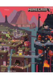 Minecraft World - plakat