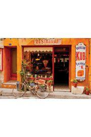 Kawiarnia - Saint Remy - Tom Mackie - plakat