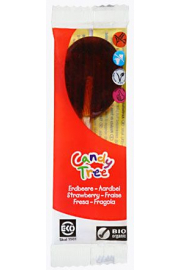 Lizaki O Smaku Truskawkowym Bezglutenowe Bio 13 G - Candy Tree