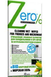 Nawilżane chusteczki do czyszczenia lodówki i mikrofali ERO Zero