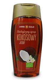 Syrop Kokosowy Jasny Bio 350 G (250 Ml) - Maya Gold