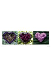 Madalenes hearts Tryptyk - reprodukcja
