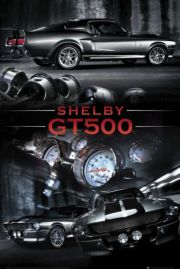 Ford Mustang Shelby GT500 - plakat