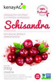 SCHISANDRA (cytryniec chiński) 5:1 - organiczny ekstrakt - 200g