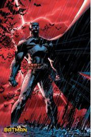Batman Red Bats - plakat