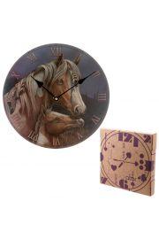 Zegar w kształcie Apacza - Lisa Parker