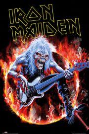 Iron Maiden Fear Live - plakat