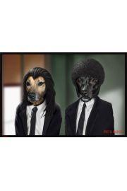 Pulp Fiction Pets Rock - plakat