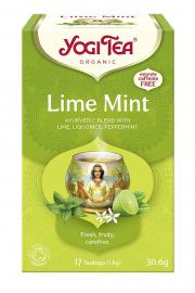 Herbata YOGI TEA Limonka z Miętą LIME MINT - ekspresowa