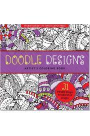 Kolorowanka Artystyczna Gryzmoły Doodle Design