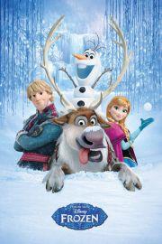 Frozen Kraina Lodu Śnieżna Grupa - plakat