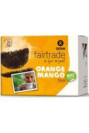 Herbata Czarna O Smaku Mango - Pomara�cza Fair Trade Bio (20 X 1,8 G) - Oxfam