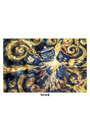 Doctor Who Exploding Tardis - plakat