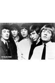 The Rolling Stones - Skład - plakat
