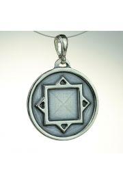 Amulet Ochronny Thurisaz, srebro