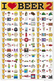 Kocham Piwo - I Love Beer - plakat