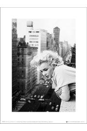 Marilyn Monroe Balcony - art print