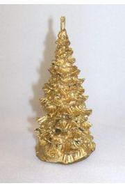 Złota choineczka z naturalnego wosku - przyniesie bogactwo!!!