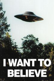 Z Archiwum X - UFO - I Want To Believe - plakat