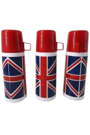 Stalowy termos 350ml - Flaga Wielkiej Brytanii