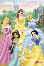 Ksi�niczki - Disney Princess - Dawno Dawno Temu ... - plakat