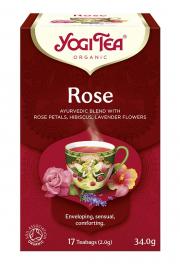 Herbata YOGI TEA Róża ROSE - ekspresowa