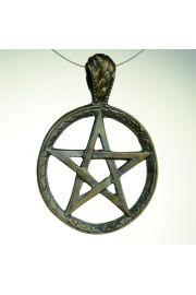 Pentagram tybetański, brąz