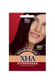 Henna koloryzująca do włosów – czarny tulipan FIT Fitocosmetic