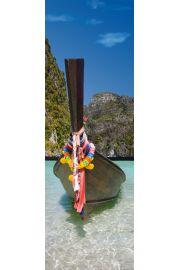 Phuket Tajlandia , Tajski Statek - plakat