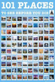 101 Miejsc które Musisz Zobaczyć Przed Śmiercią - plakat