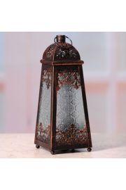 Miedziany lampion w marokańskim stylu