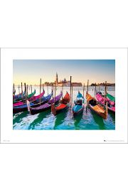 Venice Gondolas - art print