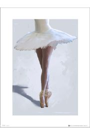 Ballerina Legs - art print