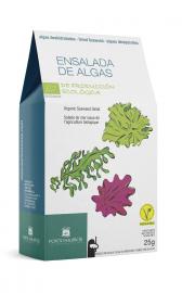 Algi Morskie Suszone - Sałatkowy Mix Bio 25 G - Porto Muinos