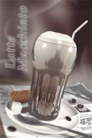 Kawa - Latte Macchiato - plakat