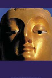 Budda - Złoty Buddha - plakat