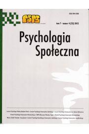 Psychologia Społeczna nr 4(23)/2012
