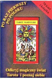Tarot marsylski dla pocz�tkuj�cych ksi��ka+karty