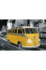 Volskwagen Camper - Nowy Jork Taxi - plakat